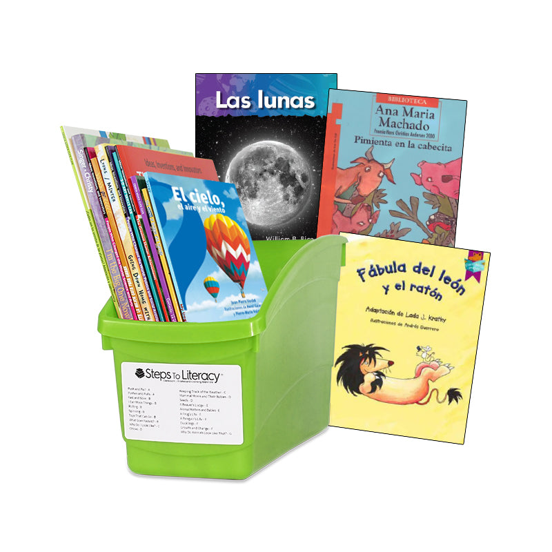 Spanish Balanced Literacy Guided Reading - 3rd Grade: Classroom Library