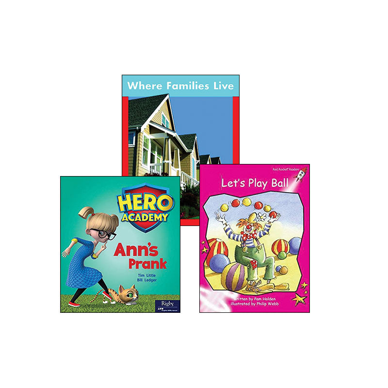 Multi-Publisher Guided Reading Levels A & B: Variety Pack