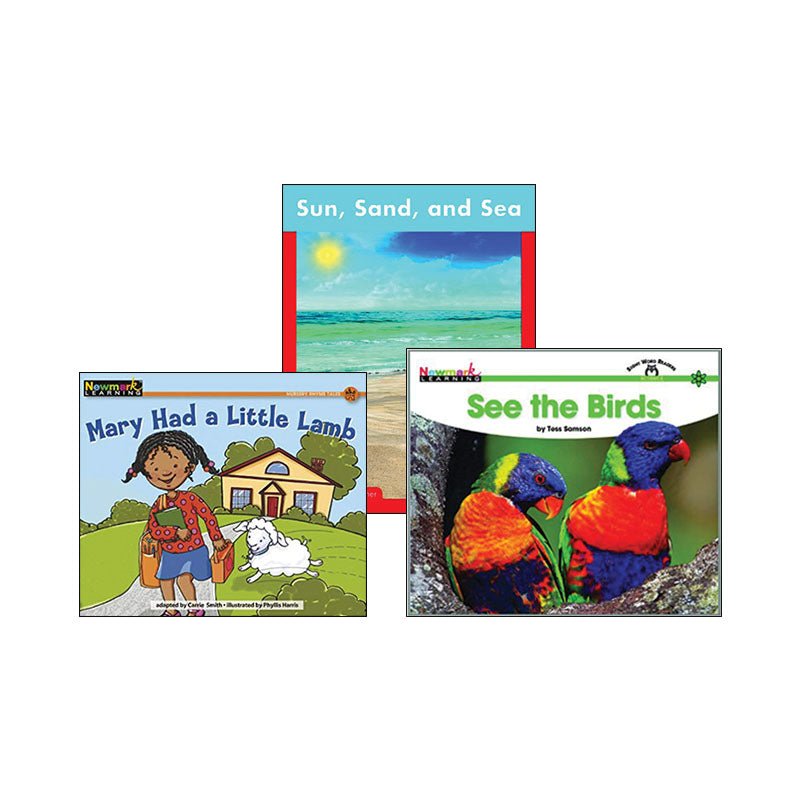 Multipublisher Guided Reading Level A: Variety Pack
