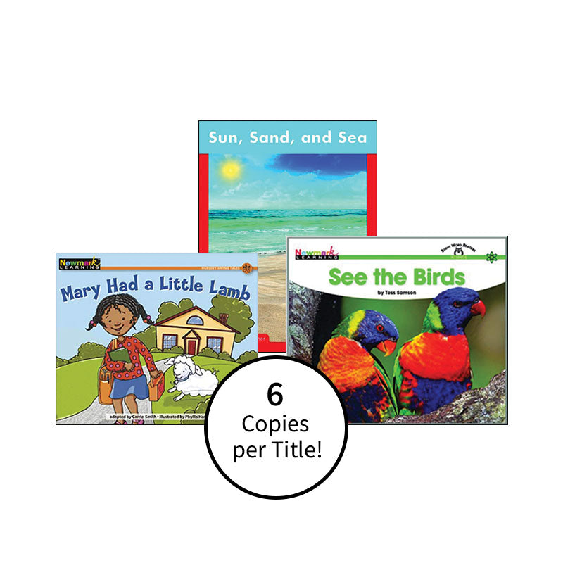 Multipublisher Guided Reading Level A: Class Pack