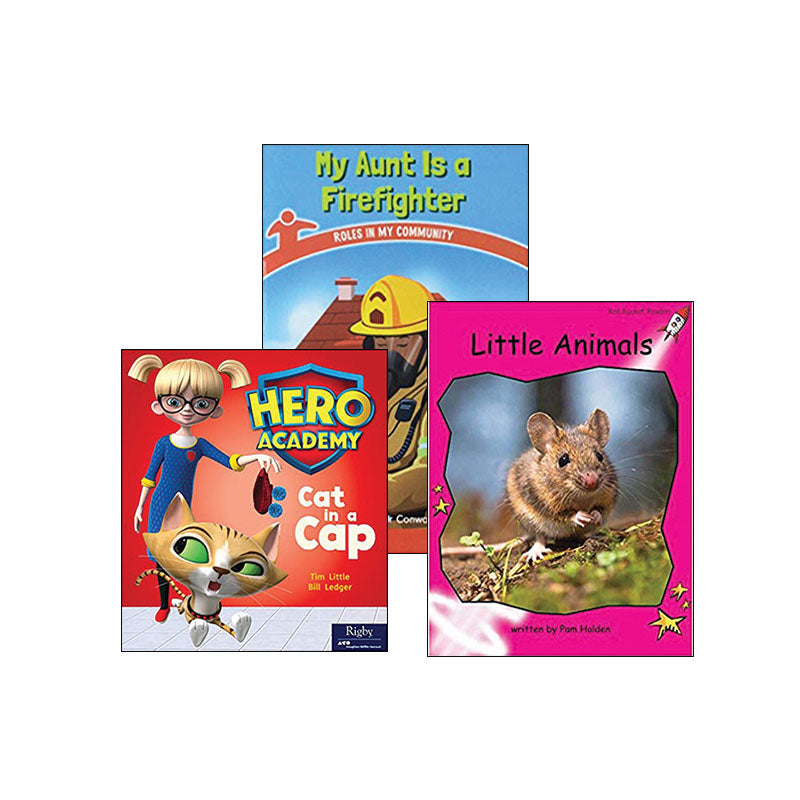 Multipublisher Guided Reading Level B: Variety Pack