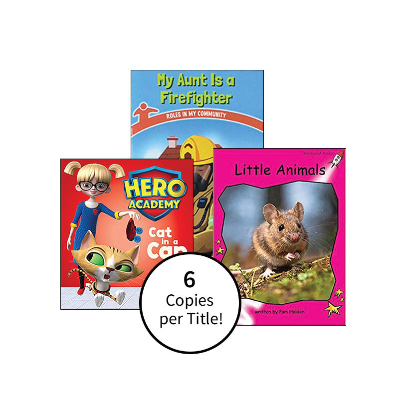 Multipublisher Guided Reading Level B: Class Pack