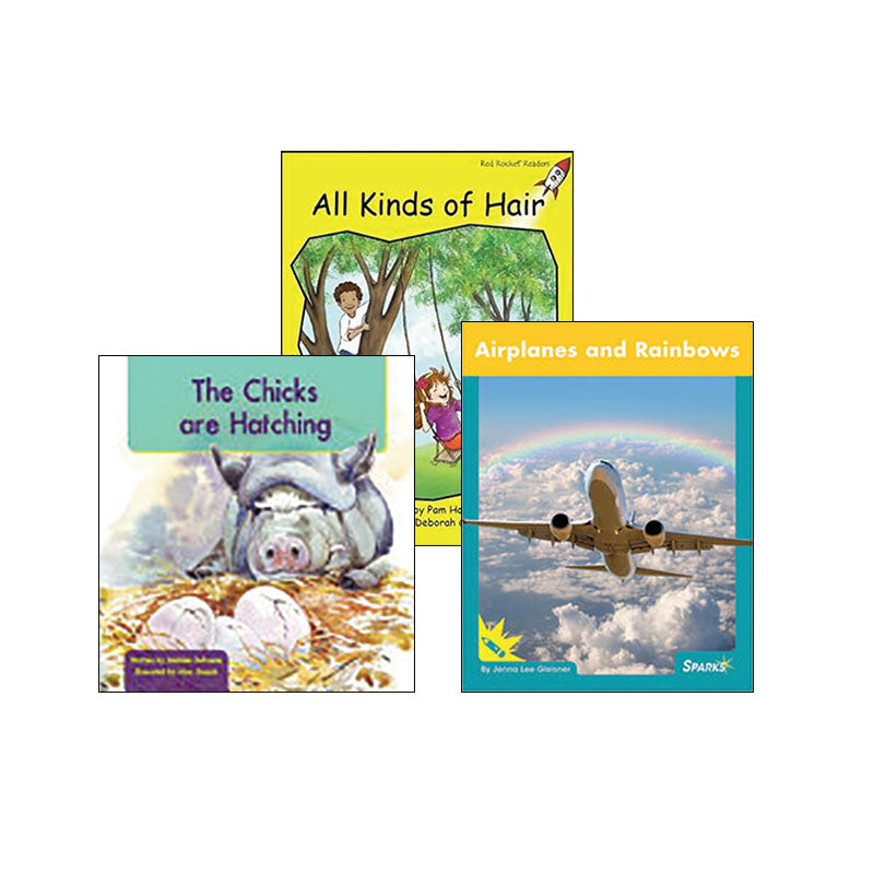 Multi-Publisher Guided Reading Levels C & D: Variety Pack