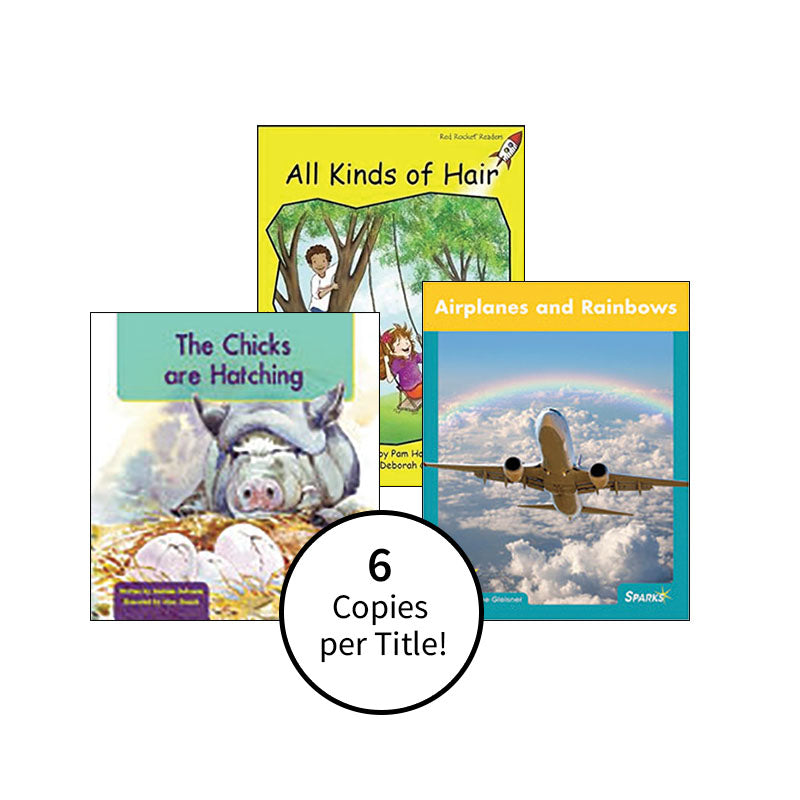 Multi-Publisher Guided Reading Levels C & D: Class Pack