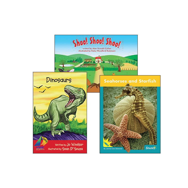 Multipublisher Guided Reading Level C : Variety Pack