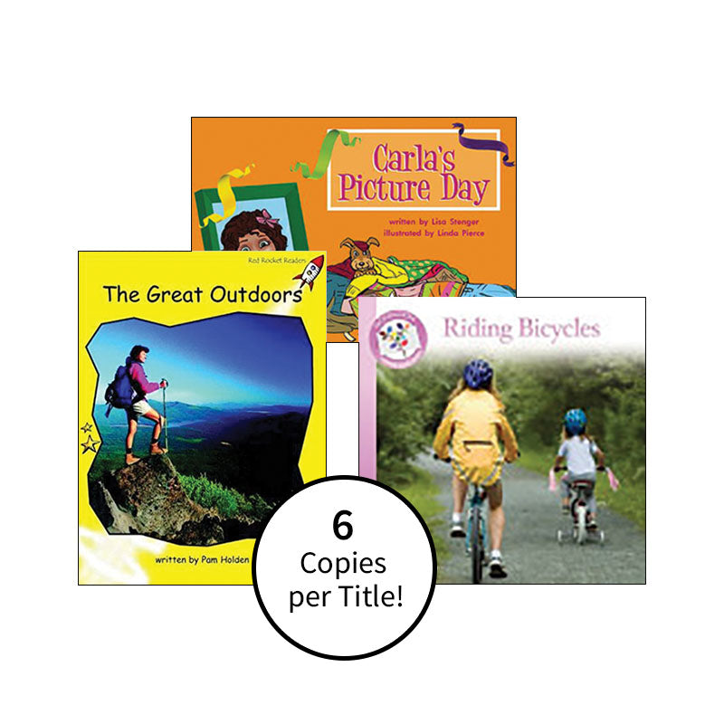 Multi-Publisher Guided Reading Levels G & H: Class Pack