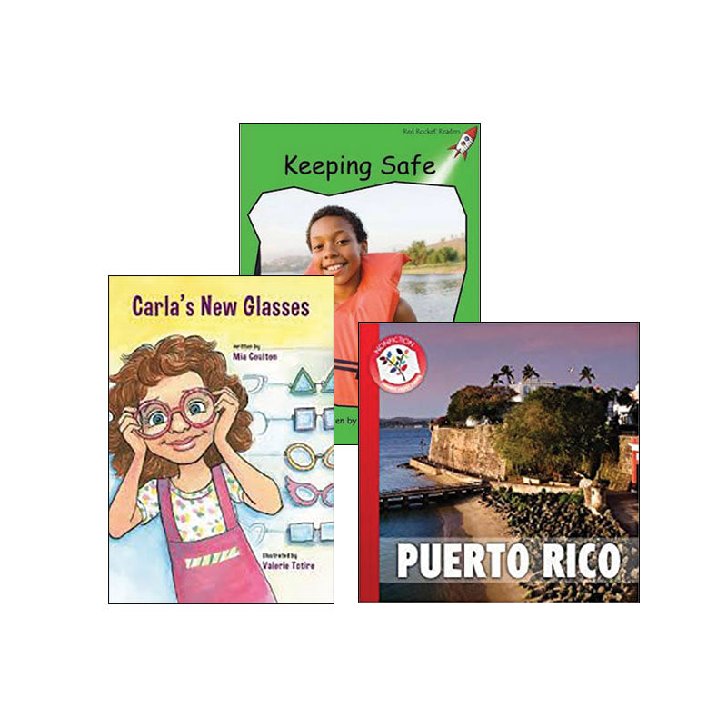 Multi-Publisher Guided Reading Levels I & J: Variety Pack