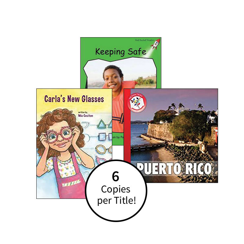 Multi-Publisher Guided Reading Levels I & J: Class Pack