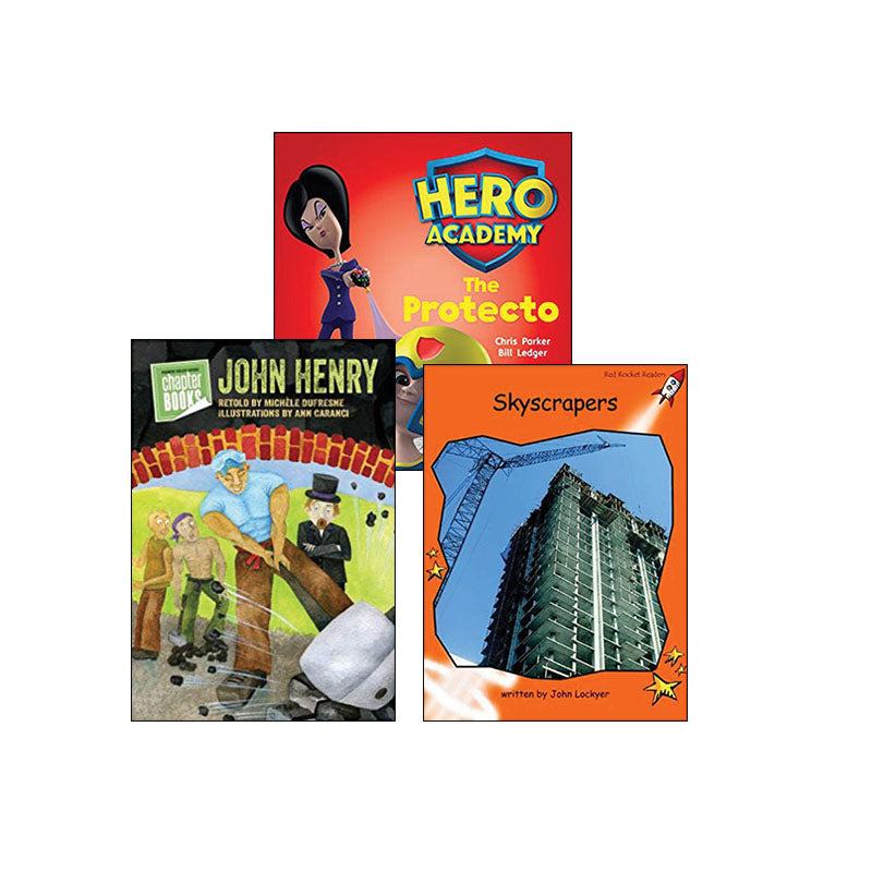 Multi-Publisher Guided Reading Levels K & L: Variety Pack