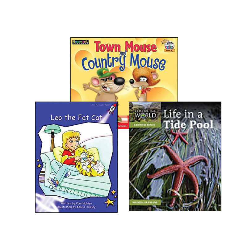 Multipublisher Guided Reading Level K : Variety Pack