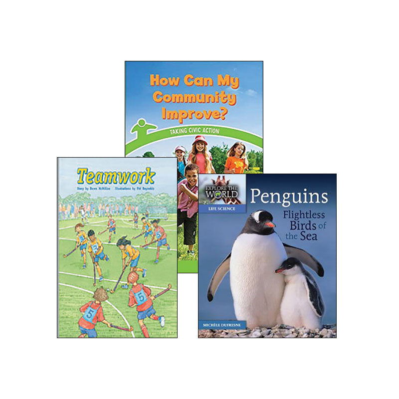 Multipublisher Guided Reading Level L : Variety Pack