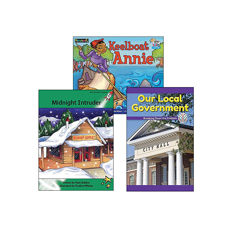 Multipublisher Guided Reading Level N : Variety Pack