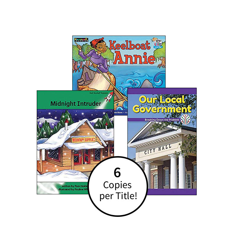 Multipublisher Guided Reading Level N : Class Pack