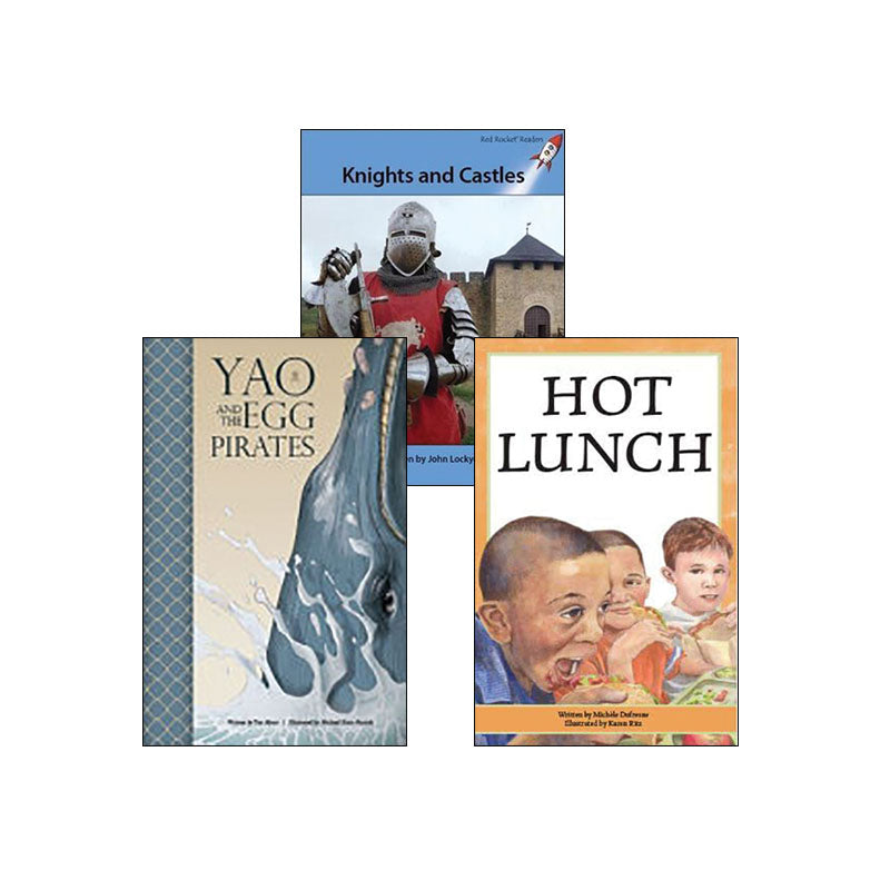 Multi-Publisher Guided Reading Levels S & T: Variety Pack