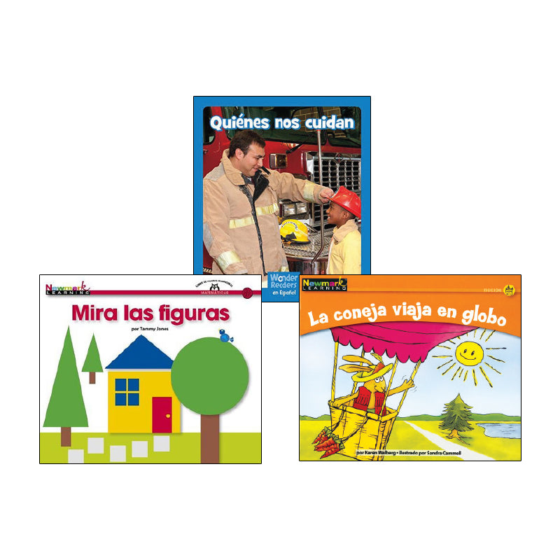 Spanish Multi-Publisher Guided Reading Levels A & B: Variety Pack