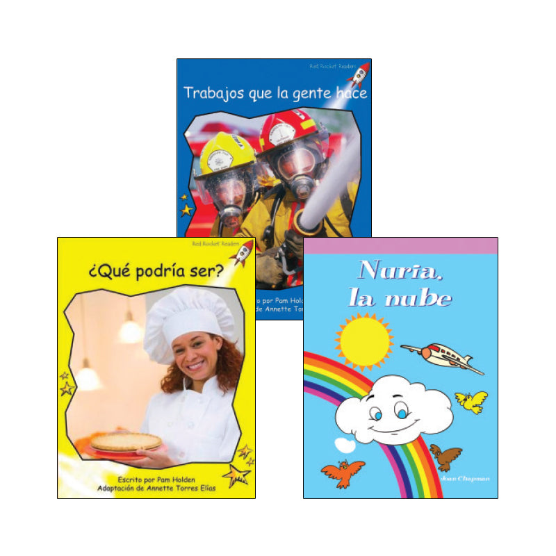 Spanish Multi-Publisher Guided Reading Levels E & F: Variety Pack