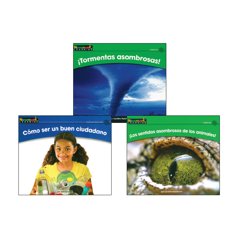 Spanish Multi-Publisher Guided Reading Levels G & H: Variety Pack