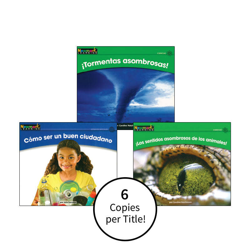 Spanish Multi-Publisher Guided Reading Levels G & H: Class Pack