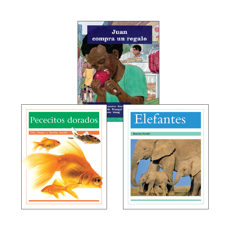 Spanish Multi-Publisher Guided Reading Levels I & J: Variety Pack