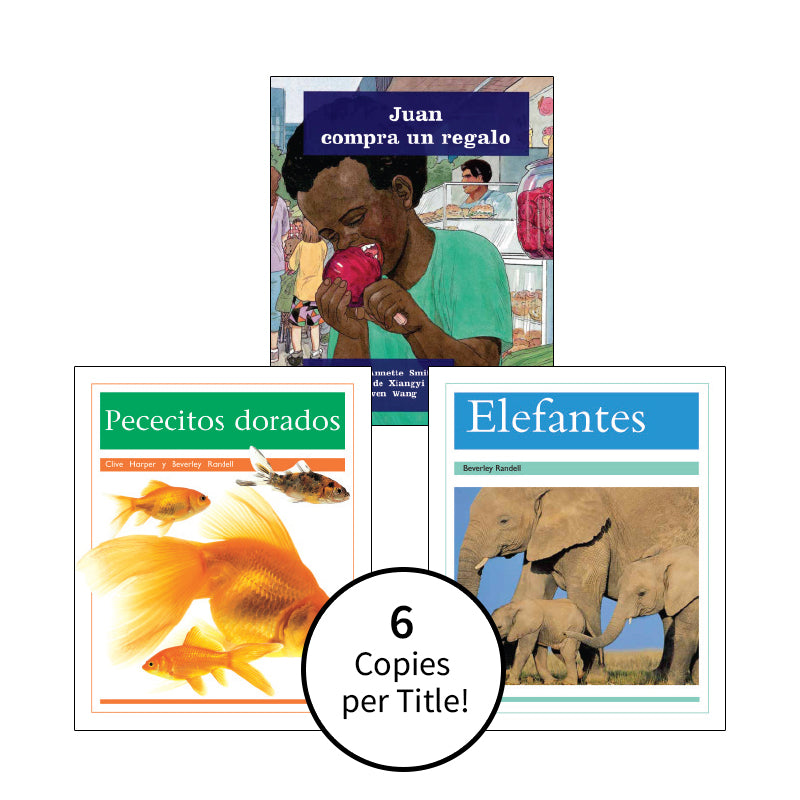 Spanish Multi-Publisher Guided Reading Levels I & J: Class Pack