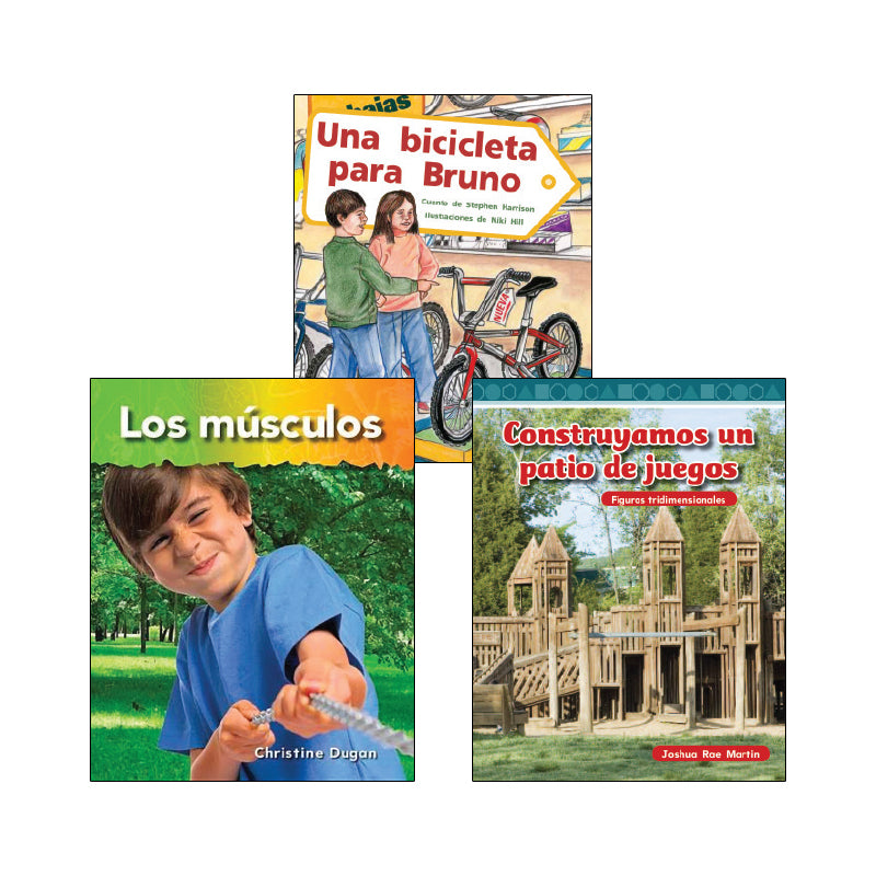 Spanish Multi-Publisher Guided Reading Levels K & L: Variety Pack