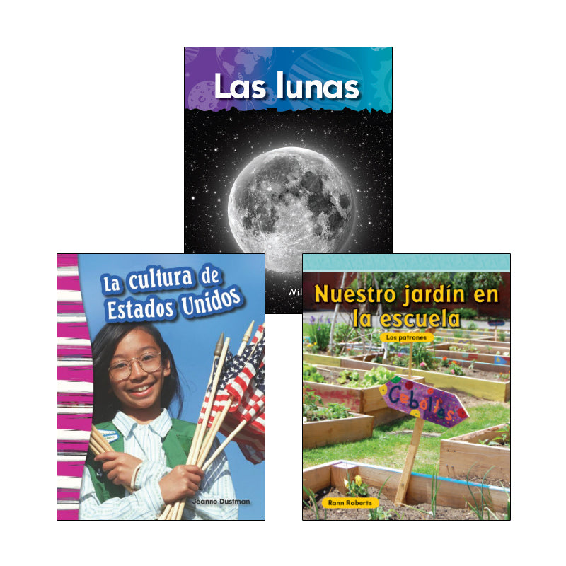 Spanish Multi-Publisher Guided Reading Levels M & N: Variety Pack