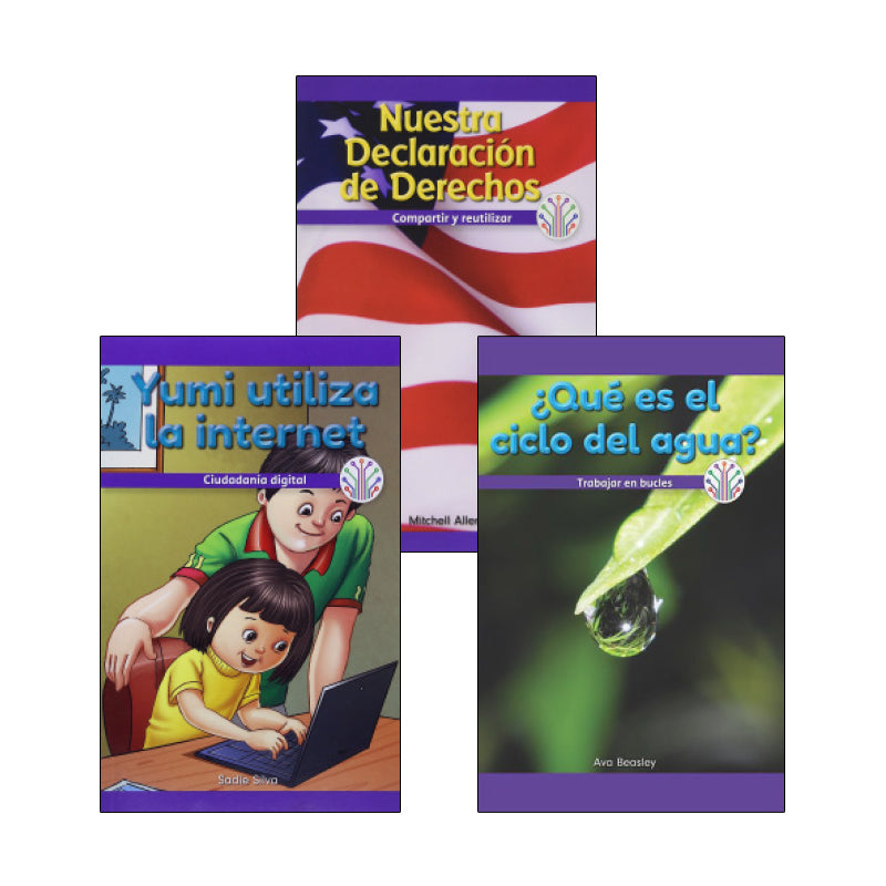Spanish Multi-Publisher Guided Reading Levels O & P: Variety Pack