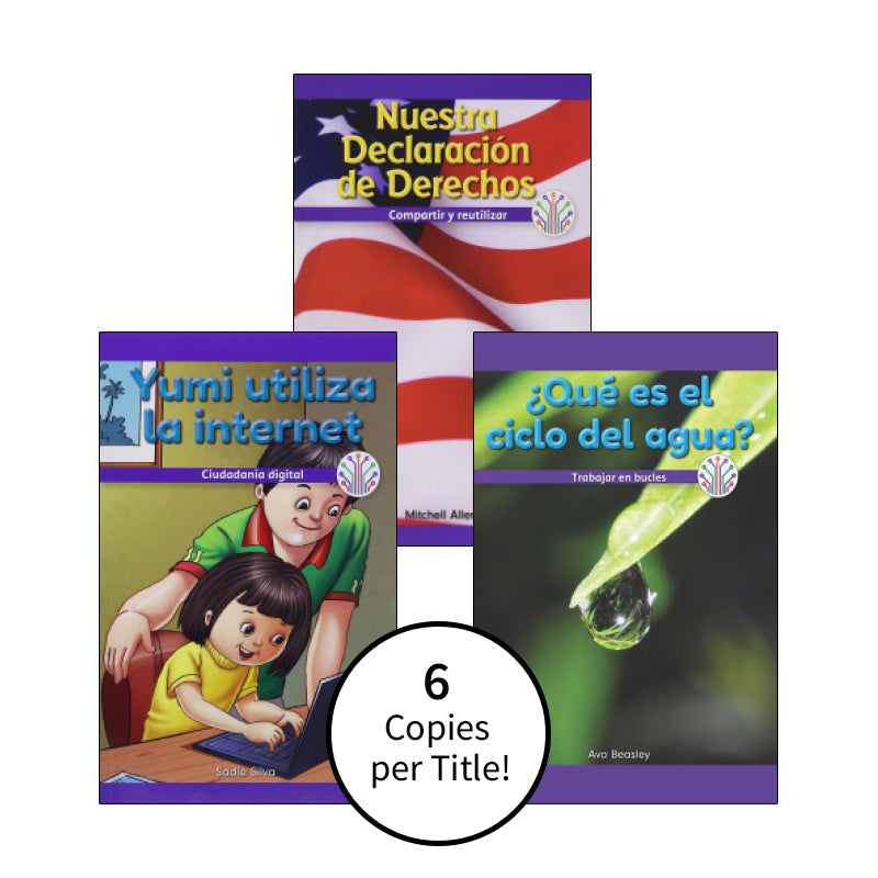 Spanish Multi-Publisher Guided Reading Levels O & P: Class Pack