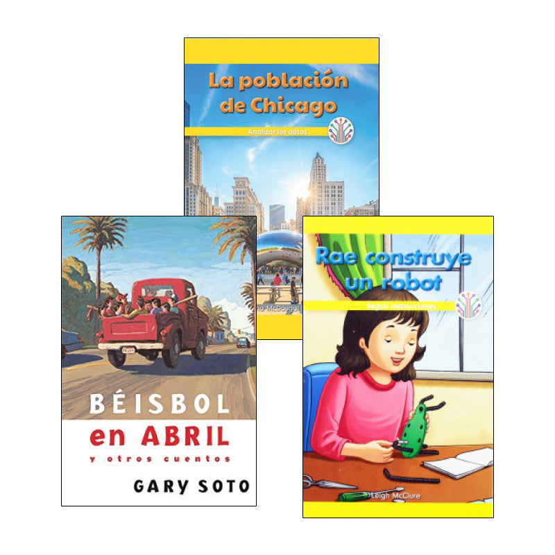 Spanish Multi-Publisher Guided Reading Levels Q & R: Variety Pack