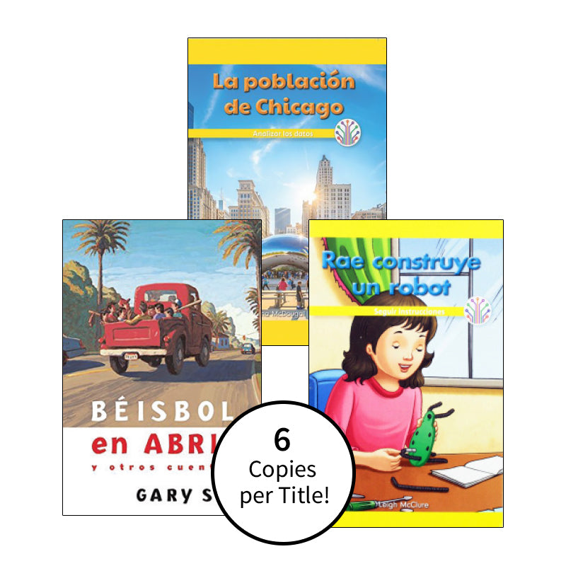 Spanish Multi-Publisher Guided Reading Levels Q & R: Class Pack