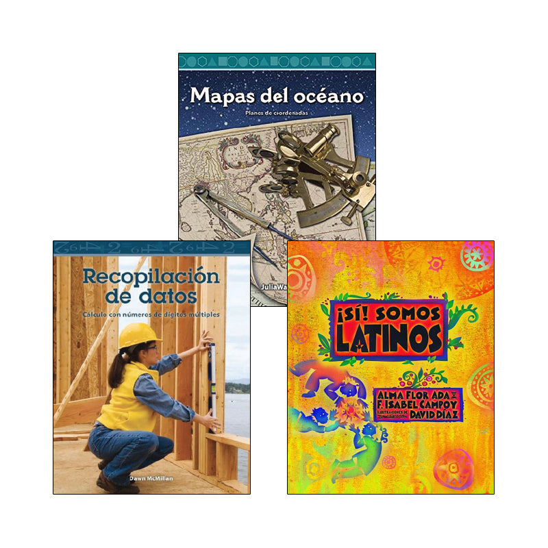 Spanish Multi-Publisher Guided Reading Levels S & T: Variety Pack