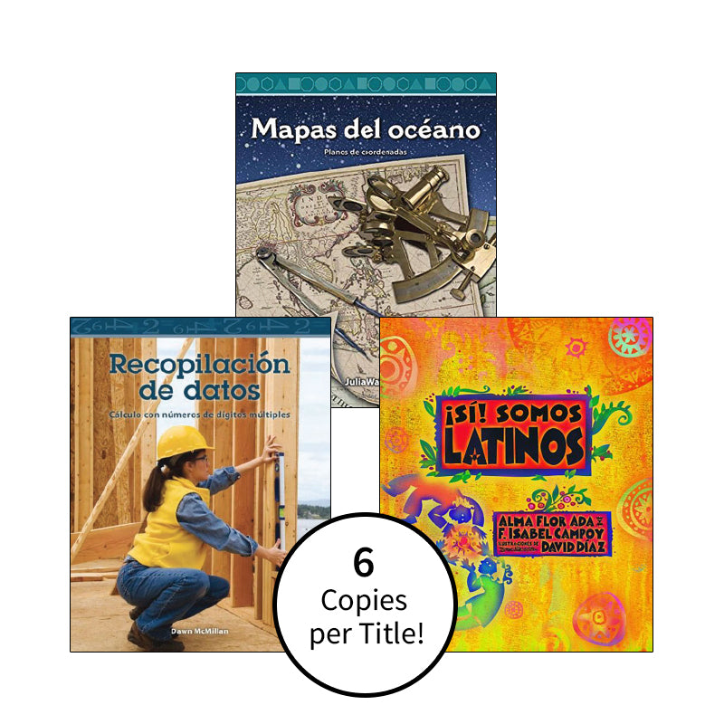 Spanish Multi-Publisher Guided Reading Levels S & T: Class Pack