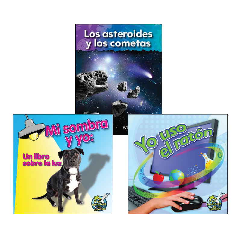 Spanish Science First Grade: Classroom Library