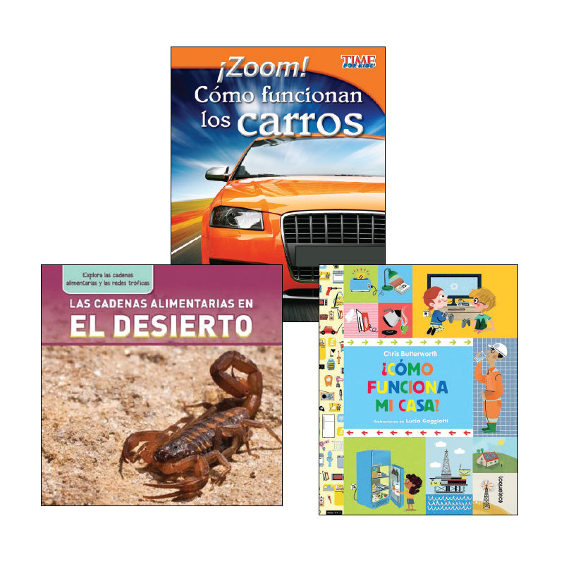 Spanish Science Second Grade: Classroom Library