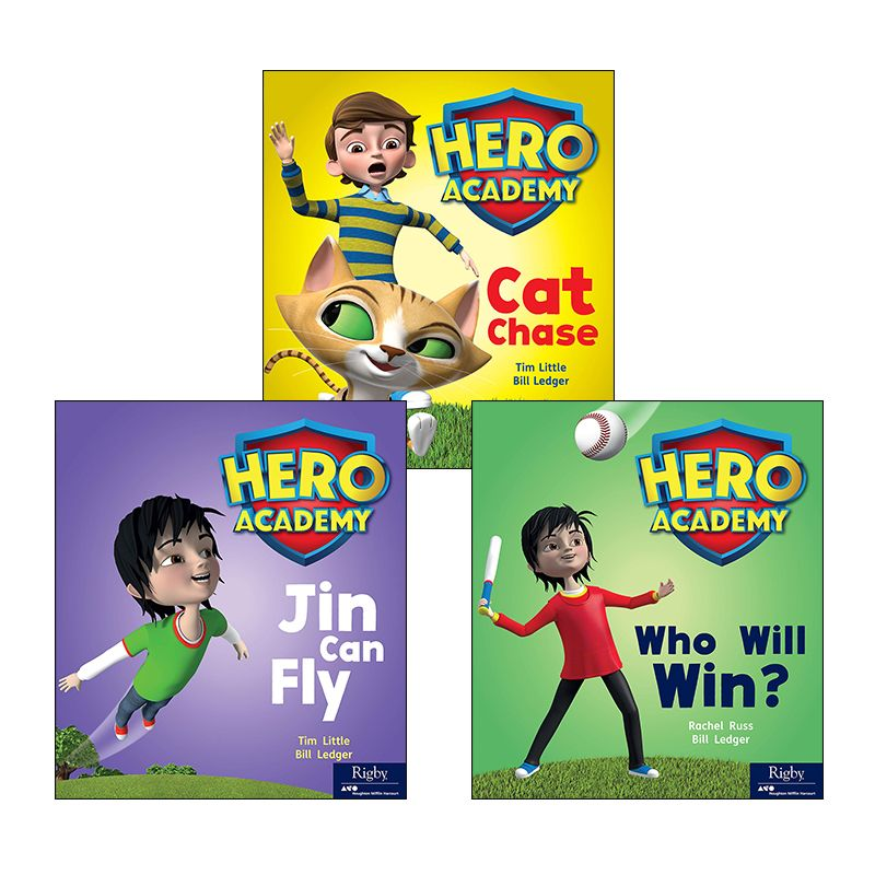 Rigby Hero Series Variety Pack Kindergarten