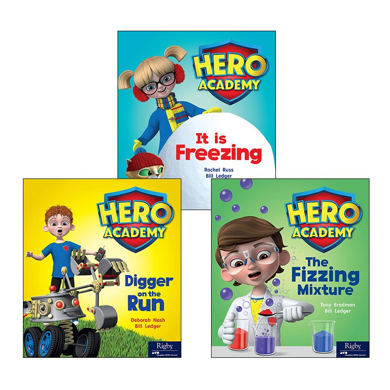 Rigby Hero Series Variety Pack Grade 1