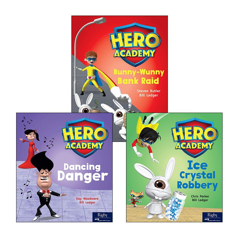 Rigby Hero Series Variety Pack Grade 2