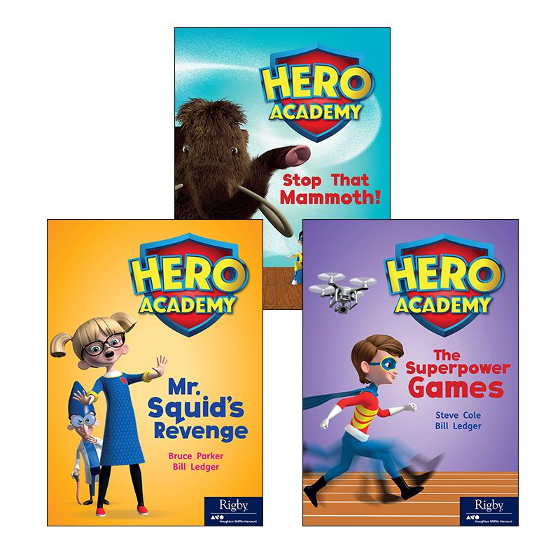 Rigby Hero Series Variety Pack Grade 3