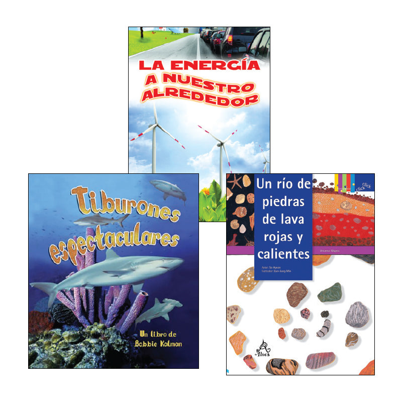 Spanish Science 4th Grade Classroom Library