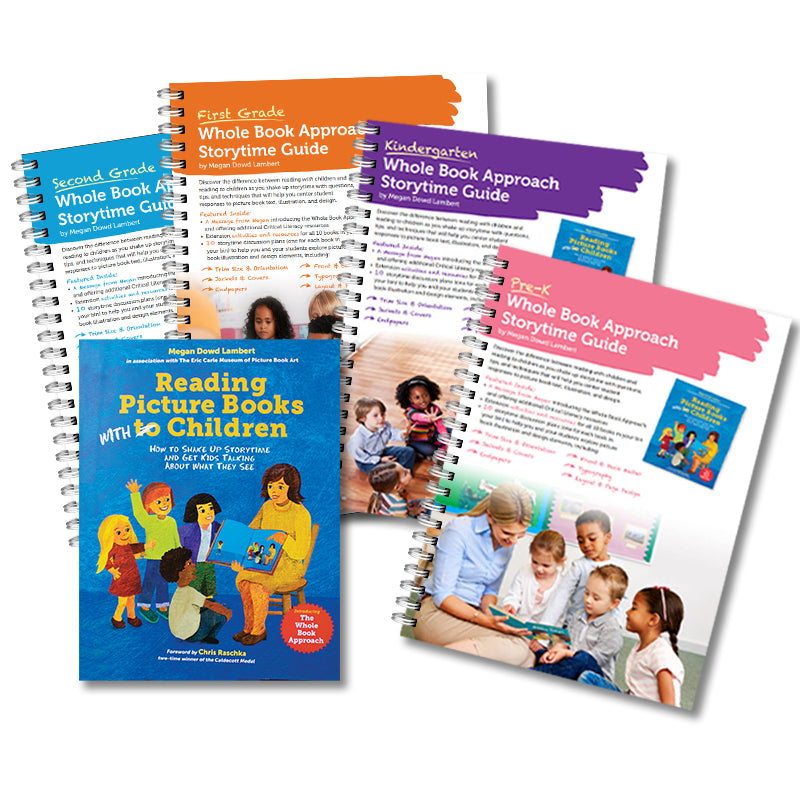 Early Childhood Whole Book Approach Storytime Guide Set