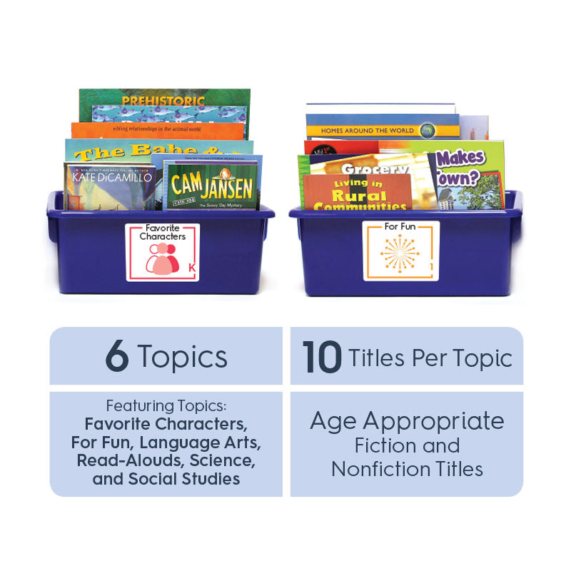 Grade 3 (English): All-in-One Reading Bin