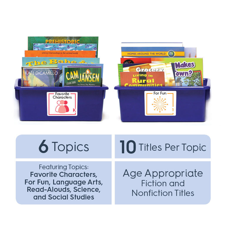 Grade 5 (English): All-in-One Reading Bin
