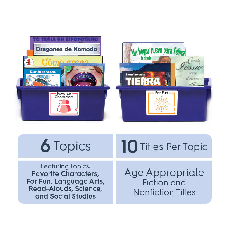 Grade 4 (Spanish): All-in-One Reading Bin