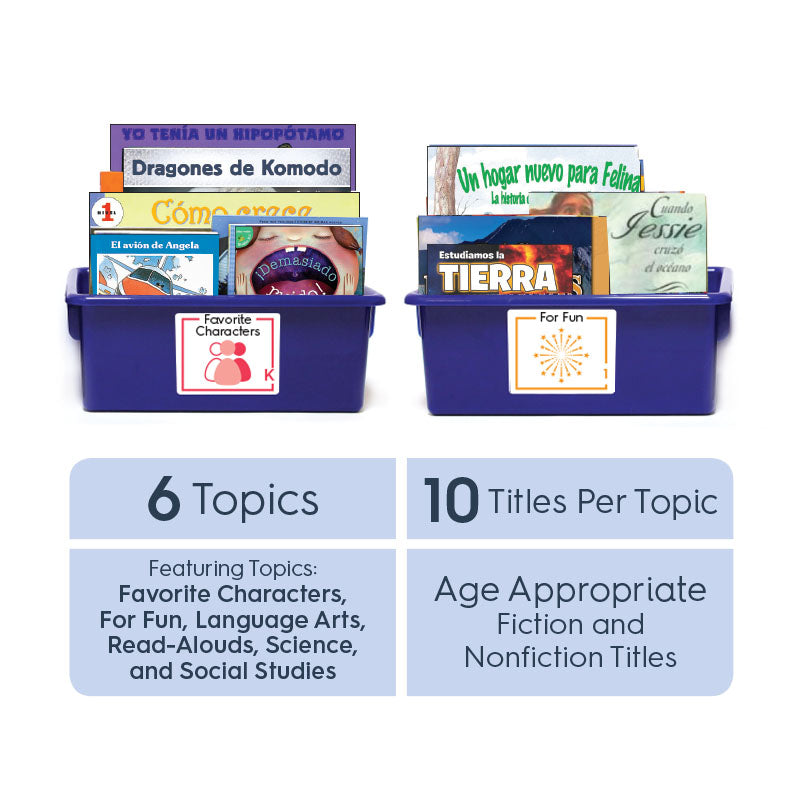 Grade 5 (Spanish): All-in-One Reading Bin