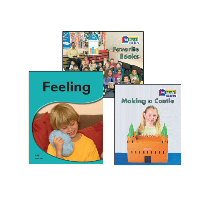 Rigby PM Science & Math Readers - Blue Level: Variety Pack