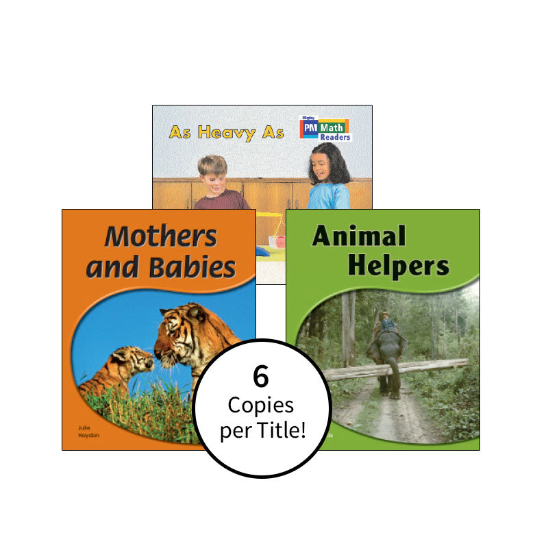 Rigby PM Science & Math Readers - Yellow Level: Class Pack