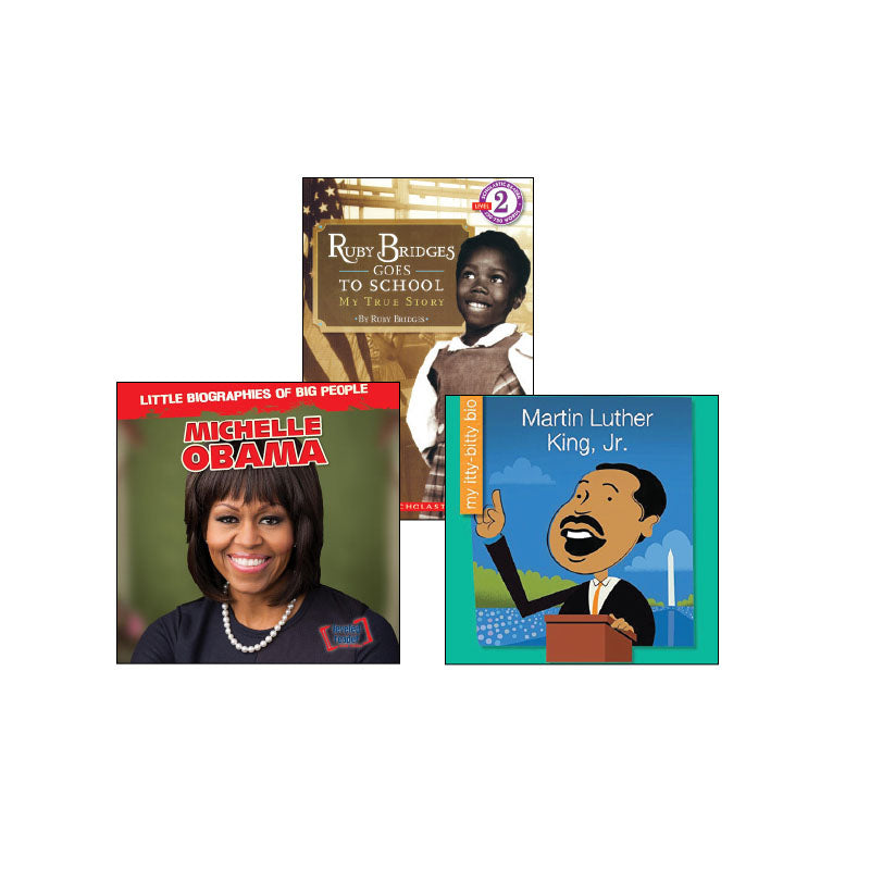Diverse Perspectives - Biographies - Grades K-1: Variety Pack