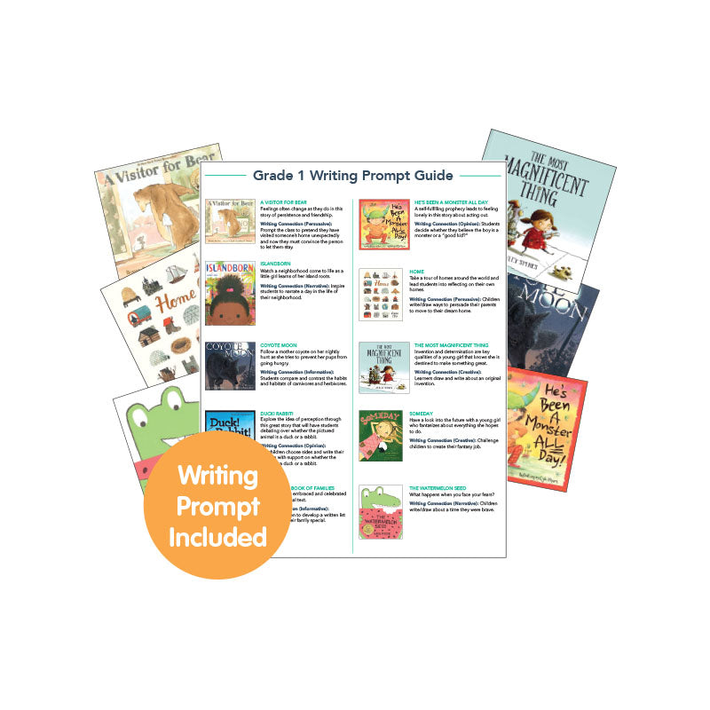 First Grade Read-Aloud Writing Connectors: Variety Pack
