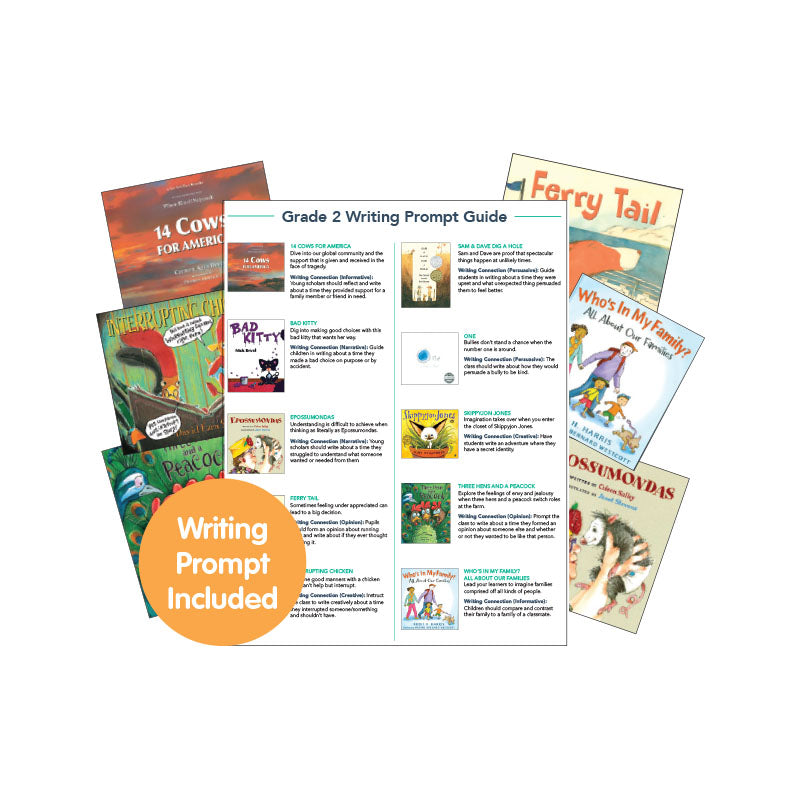 Second Grade Read-Aloud Writing Connectors: Variety Pack