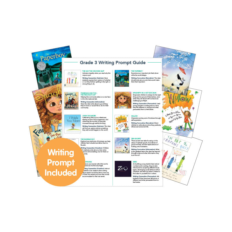 Third Grade Read-Aloud Writing Connectors: Variety Pack
